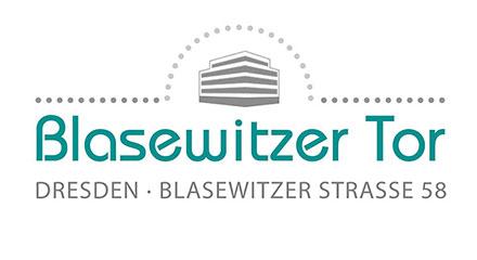 Logo: Blasewitzer Tor – ein Projekt der Villa Nova